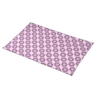 Salvamanteles Panal púrpura