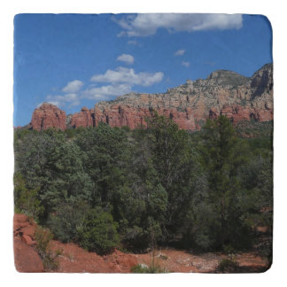 Salvamanteles Panorama de rocas rojas en Sedona Arizona