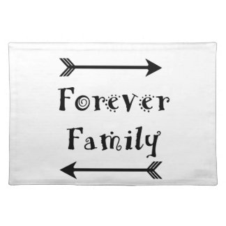 Salvamanteles Para siempre familia - diseño de Adpotion