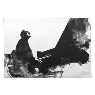 Salvamanteles pianista