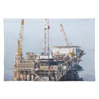 Salvamanteles Plataforma petrolera