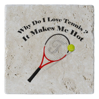 Salvamanteles Porqué lo hace el tenis del amor de I. Me hace