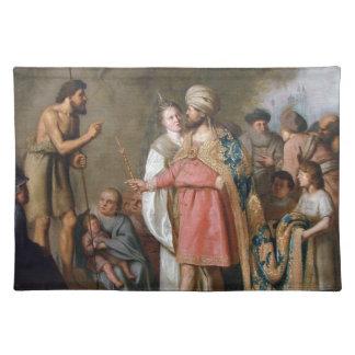 Salvamanteles Predicación de San Juan Bautista