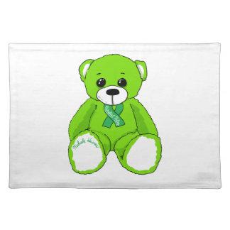Salvamanteles Productos del oso de peluche de la conciencia de