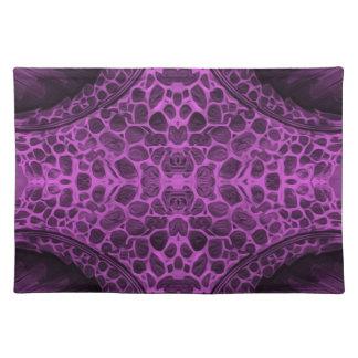 Salvamanteles Púrpura psicodélica