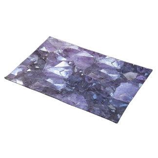 Salvamanteles Racimo cristalino Amethyst