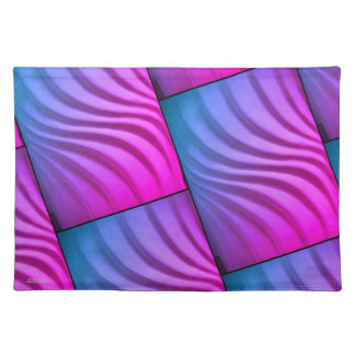 Salvamanteles Remolino tridimensional colorido