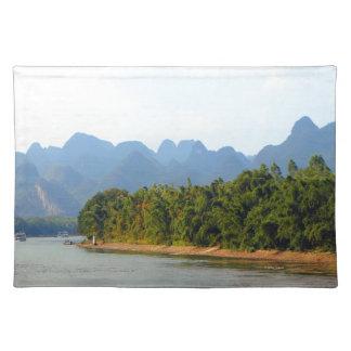 Salvamanteles Río de Li, China
