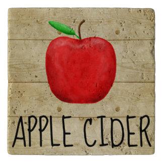 Salvamanteles Rojo Apple de la sidra de Apple