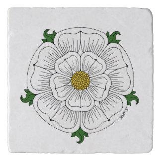 Salvamanteles Rosa blanco de York