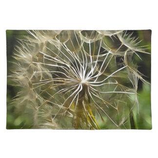 Salvamanteles Salsifí de la flor del Tragopogon
