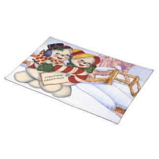 Salvamanteles Saludos 3 del navidad