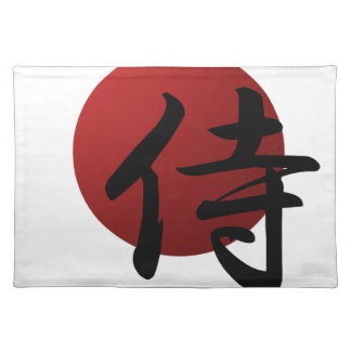 Salvamanteles Samurai Sun