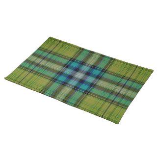 Salvamanteles Tela escocesa de tartán