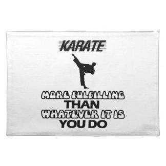 Salvamanteles Tender DISEÑOS del karate