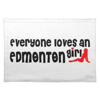 Salvamanteles Todos ama a un chica de Edmonton
