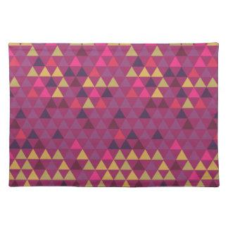 Salvamanteles Triángulos coloridos