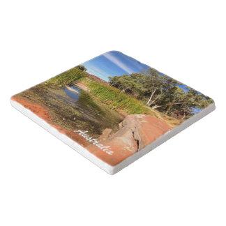 Salvamanteles Trivet de piedra del australiano interior