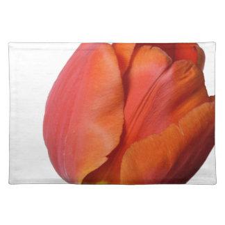 Salvamanteles Tulipán rojo hermoso de una flor de Europa