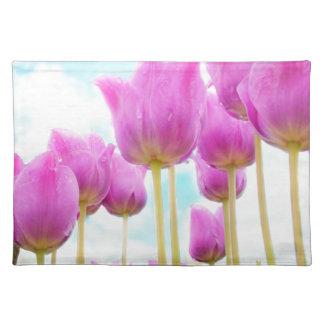 Salvamanteles tulipanes