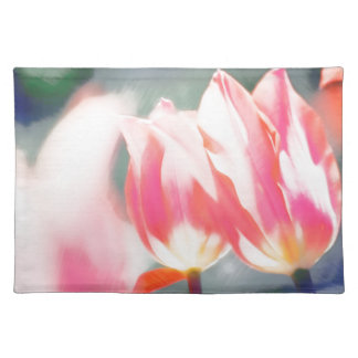 Salvamanteles Un bosquejo del dúo del Tulipa