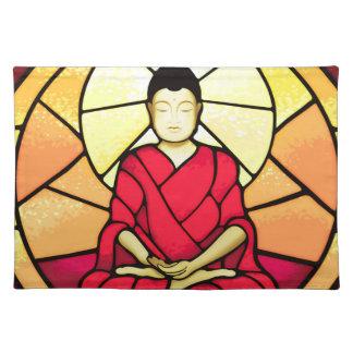 Salvamanteles Ventana de cristal de la mancha de Bali Buda
