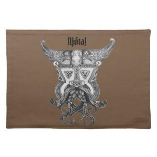 Salvamanteles Viking medieval - Njota Placemat