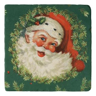 Salvamanteles Vintage Santa alegre