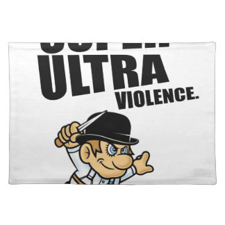 Salvamanteles violencia estupenda del dibujo animado ultra