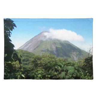 Salvamanteles volcán de Arenal