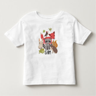 "Sam ""animales en mi yarda "" camiseta de bebé"