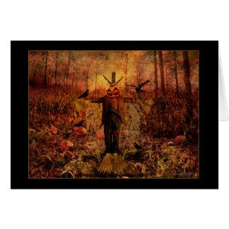 Samhain bendecido - tarjeta del espantapájaros
