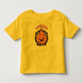 Samhain/Samaín happy pumpkin KidsTSHIRT Camiseta De Bebé