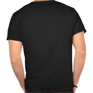 Samoano enojado (azul) camisetas
