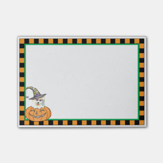 Samoyedo de Halloween Notas Post-it®