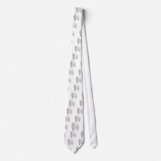 Samoyedo hermoso corbata