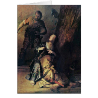 Samson traicionó por Delilah de Rembrandt Van Rijn Tarjetas