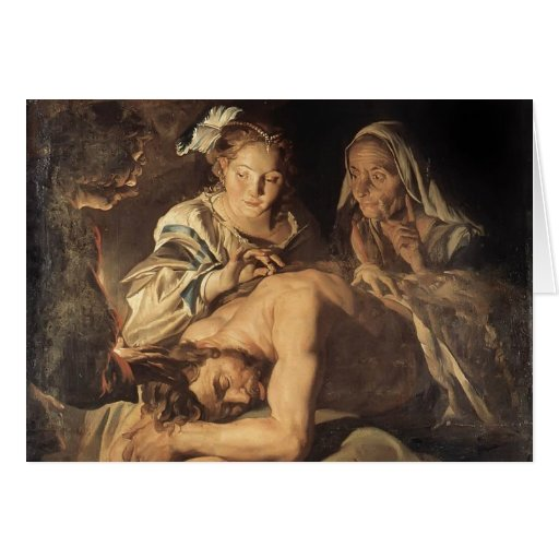 Samson y Delilah de Matías Stom Felicitacion