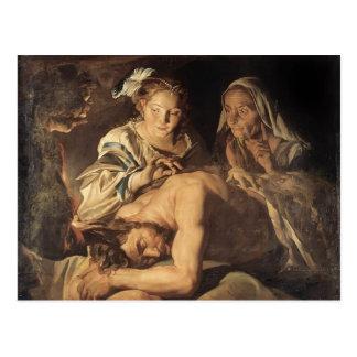 Samson y Delilah de Matías Stom Postales