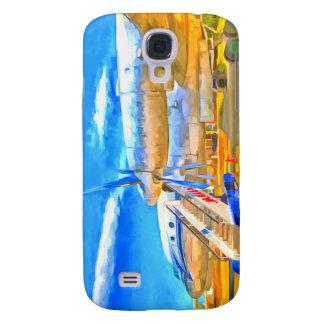 Samsung Galaxy S4 Cover Avión de pasajeros del ruso del arte pop