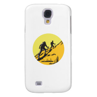 Samsung Galaxy S4 Cover Caminantes que caminan para arriba el grabar en