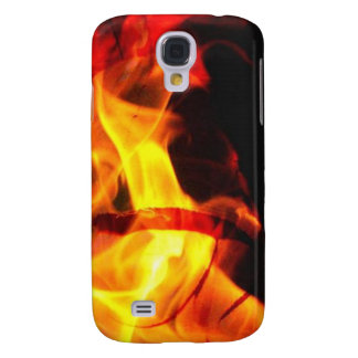 Samsung Galaxy S4 Cover Cubierta del fuego