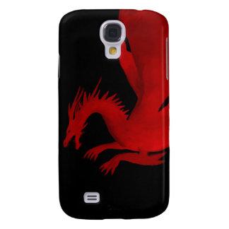 Samsung Galaxy S4 Cover Dragón rojo
