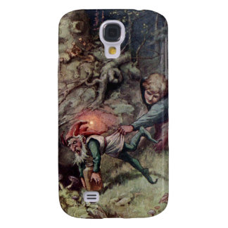 Samsung Galaxy S4 Cover El ladrón de la fresa embroma la caja de la