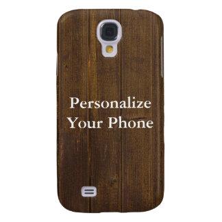 Samsung Galaxy S4 Cover Grano de madera