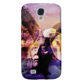 Samsung Galaxy S4 Cover Guerrero del indio del nativo americano