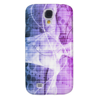 Samsung Galaxy S4 Cover Investigación de la ciencia como concepto para la