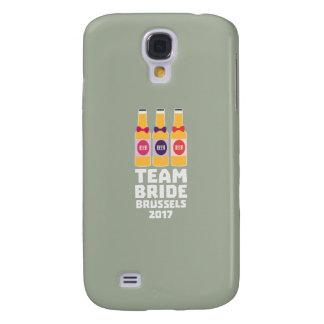 Samsung Galaxy S4 Cover Novia Bruselas del equipo 2017 Zfo9l