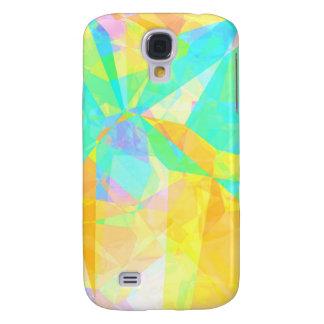 Samsung Galaxy S4 Cover Polígono artístico que pinta arte abstracto del
