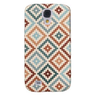 Samsung Galaxy S4 Cover Terracota azteca de Crm de los trullos de Ptn del